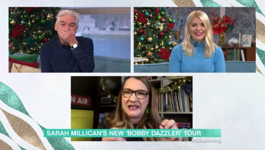 Sarah Millican on This morning