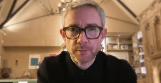 Martin Freeman in promo video for Project Northmoor
