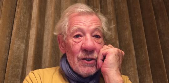 Sir Ian McKellan in promo video for Project Northmoor