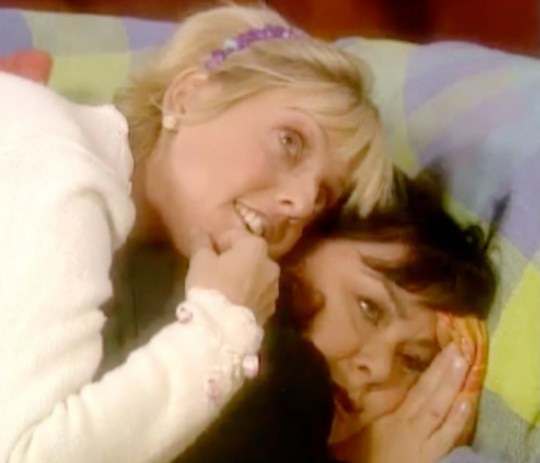 ALICE AND GERALDINE ON VICAR OF DIBLEY