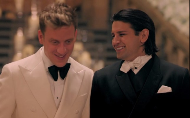 Ollie and Gareth's wedding made in chelsea