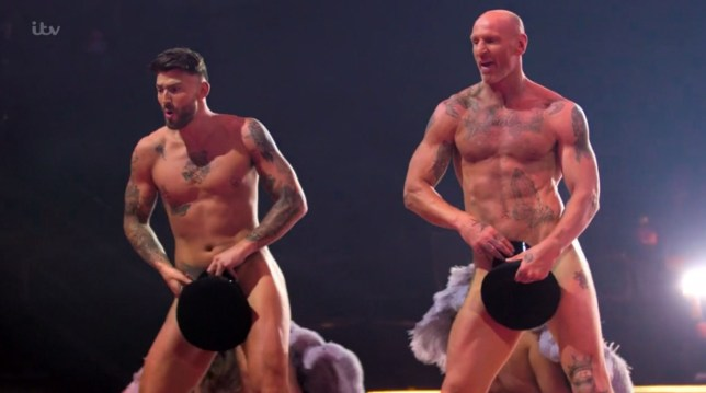 The Real Full Monty (Picture: ITV)