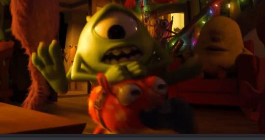 Mike Wazowski (Noah Johnston) in Monsters University