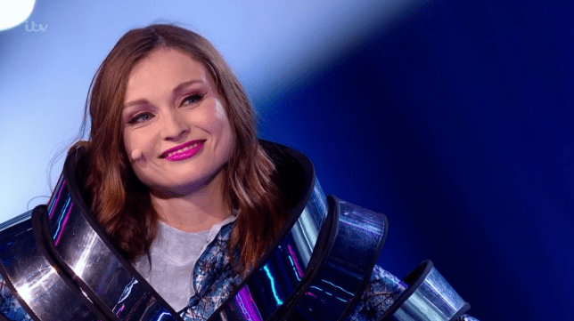 Sophie Ellis-Bextor on The Masked Singer UK (Picture: ITV)