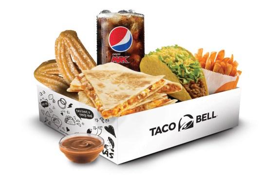 taco bell quesadilla cravings box