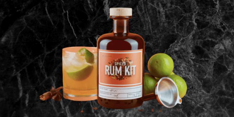Spiced rum kit