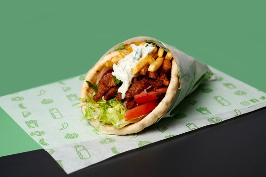 what the pitta vegan doner kebab