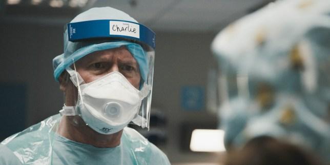 Casualty coronavirus episode ends in Noel's death