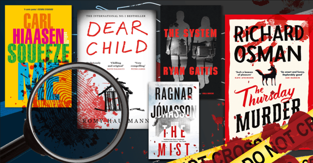 best crime novels to buy this christmas