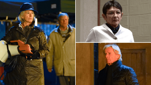 Evelyn, Roy, Yasmeen and Ken in Coronation Street