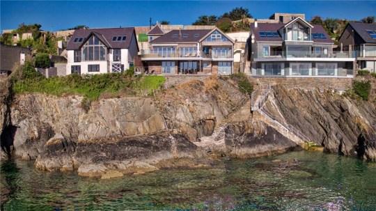 five-bedroom beach house in Abersoch