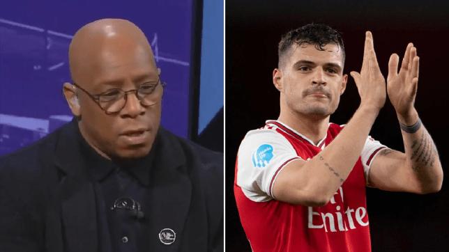 Ian Wright slams Arsenal midfielder Granit Xhaka over 'negativity' and lack of creativity