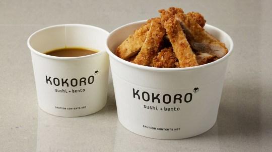 kokoro sushi and bento katsu chicken
