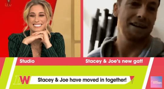 Stacey and Joe