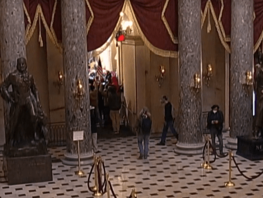 Joe Biden's certification halted after pro-Trump protesters storm US Capitol