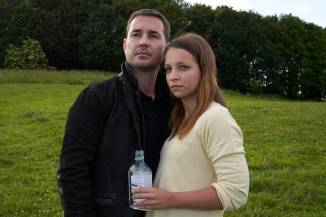 Martin Compston and Molly Windsor in BBC One drama Traces