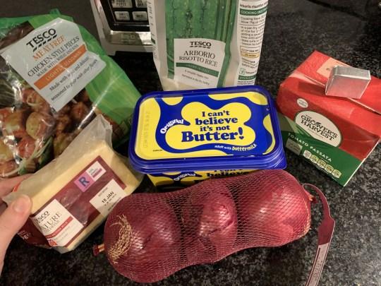 Chelsie's groceries