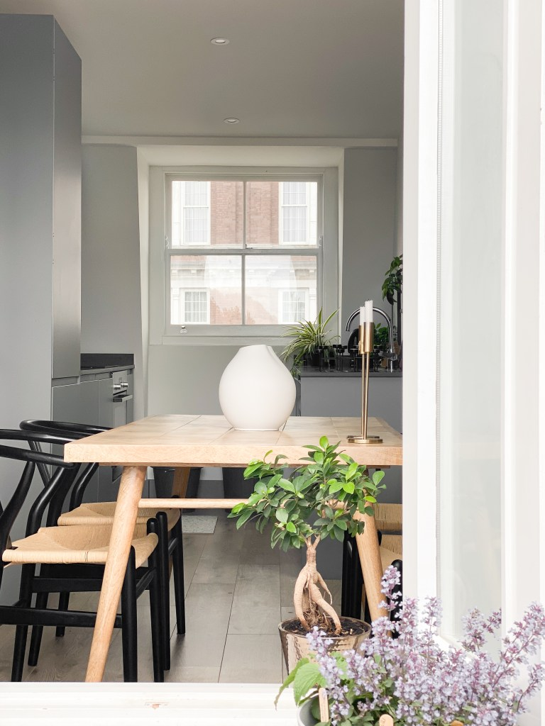 What I Rent: Annabel, two-bedroom flat in Angel, Islington - dining room
