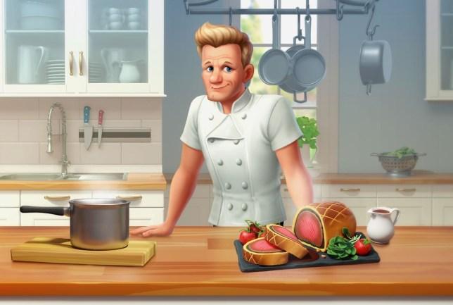 Gordon Ramsay: Chef Blast art