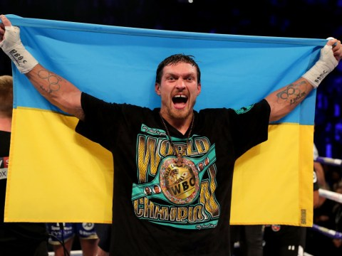 Oleksandr Usyk 'refuses to consent' to Tyson Fury v Anthony Joshua unification fight