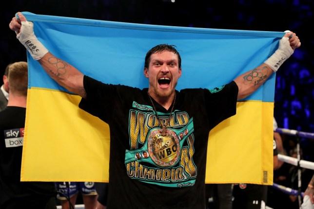 Oleksandr Usyk 'refuses to consent' to Tyson Fury v Anthony Joshua unification fight