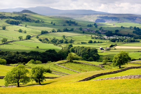 Towards Stainforth and Ingleborough