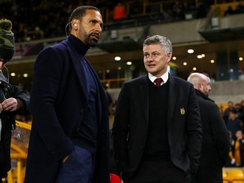 Manchester United legend Rio Ferdinand tells Ole Gunnar Solskjaer to copy Sir Alex Ferguson tactic at Liverpool