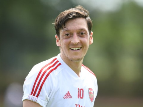 Arsenal youngster reveals what it is really like to train with Mesut Ozil