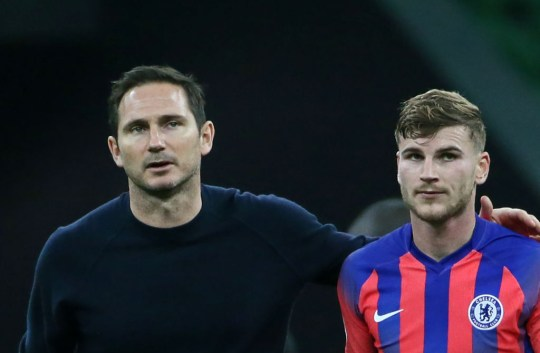Lampard's summer signing Werner has struggled in front of goal