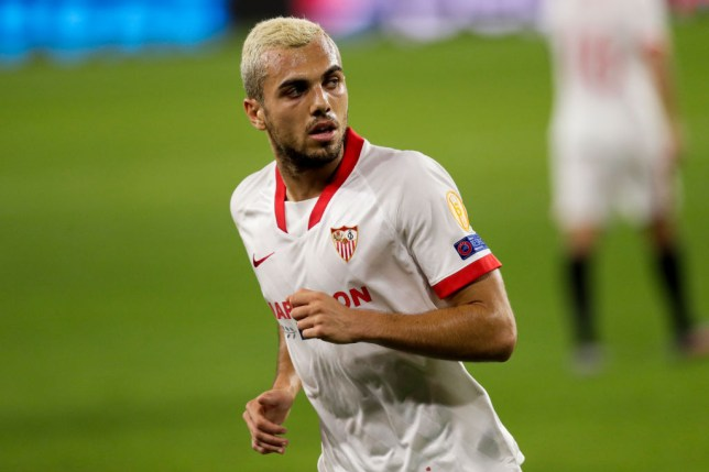 Sevilla midfielder Joan Jordan has been linked with a move to Arsenal