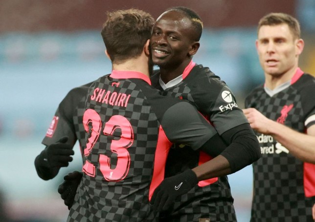 Mane bagged a brace for the Reds