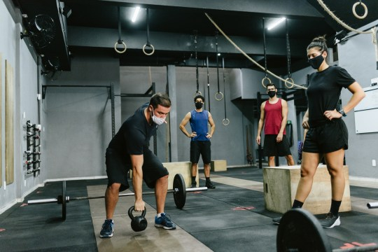Athletes training during the Covid-19 pandemic