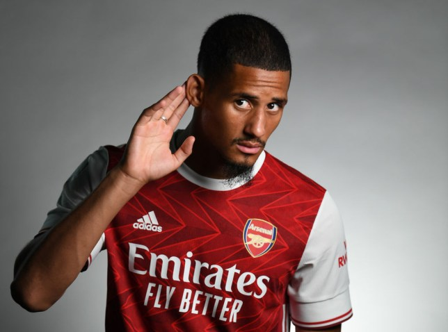 Arsenal chief Edu explains decision to loan William Saliba to Nice