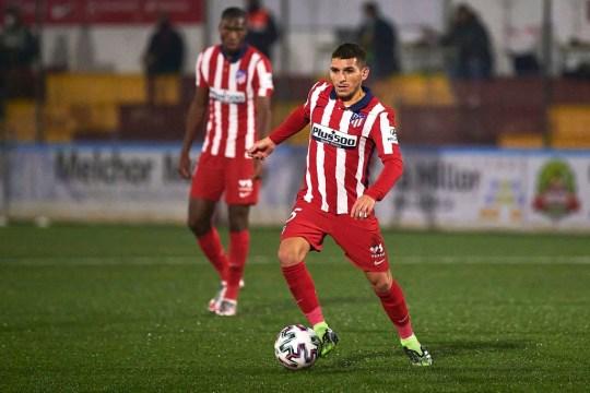 Lucas Torreira ha sido titular solo dos partidos con el Atlético de Madrid esta temporada