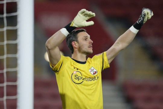 Southampton were affected by Covid-19 last week when goalkeeper Alex McCarthy tested positive