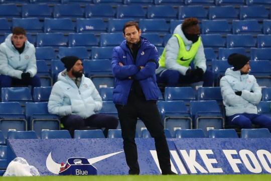 Frank Lampard Chelsea v Manchester City - Premier League