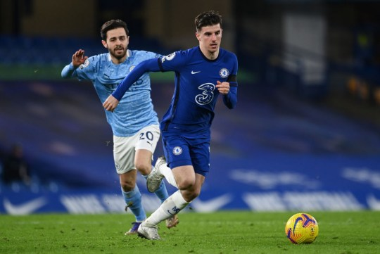 Mason Mount Chelsea v Manchester City - Premier League