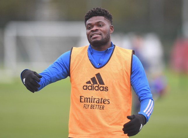 Thomas Partey is primed to make his Arsenal return from injury