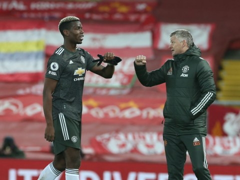 Paul Pogba apologised to Manchester United squad for missing gilt-edged chance in Liverpool draw
