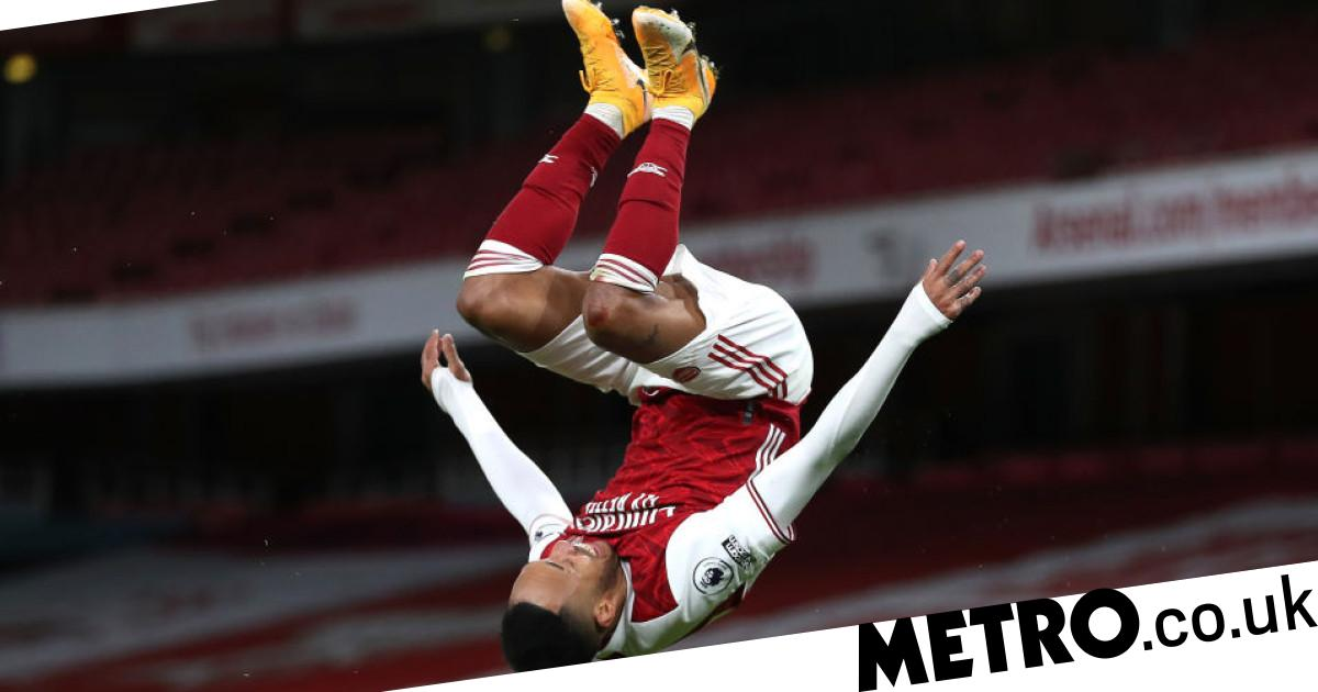 Mikel Arteta clears up Pierre-Emerick Aubameyang 'illness' as Arsenal beat Newcastle - metro
