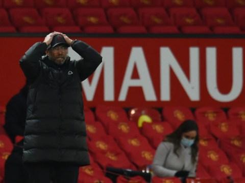 Jurgen Klopp takes positives from Liverpool defeat to Man Utd ahead of huge Tottenham clash