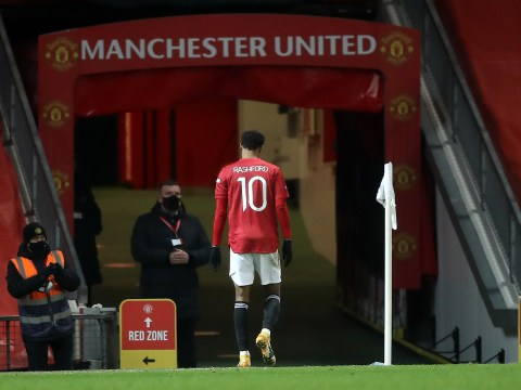 Ole Gunnar Solskjaer provides Marcus Rashford injury update after Manchester United's win over Liverpool
