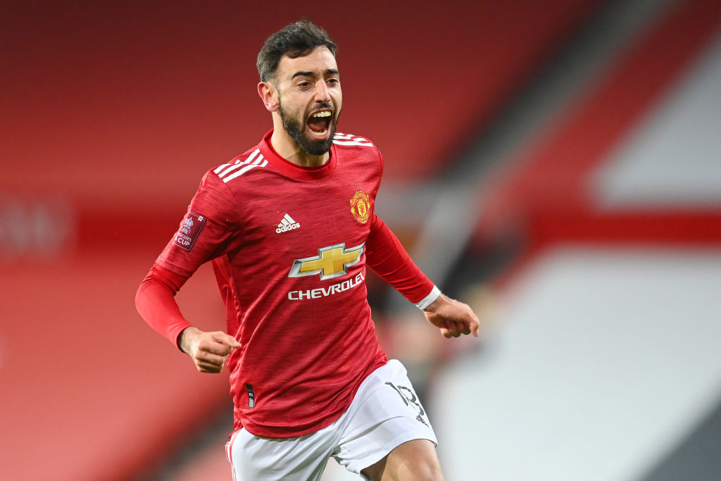 Manchester United due to pay £4m if Bruno Fernandes wins PFA Player of the Year award