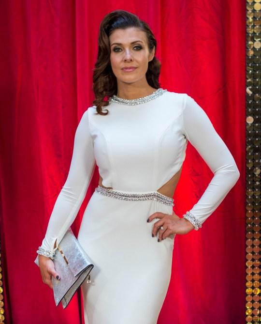 Kym Marsh at the British Soap Awards - Red Carpet Arrivals