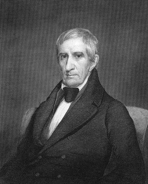 Portrait Of W.H. Harrison