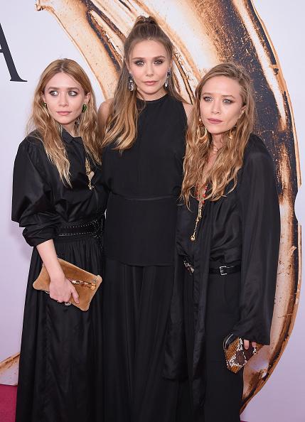 Mary-Kate, Ashley and Elizabeth Olsen