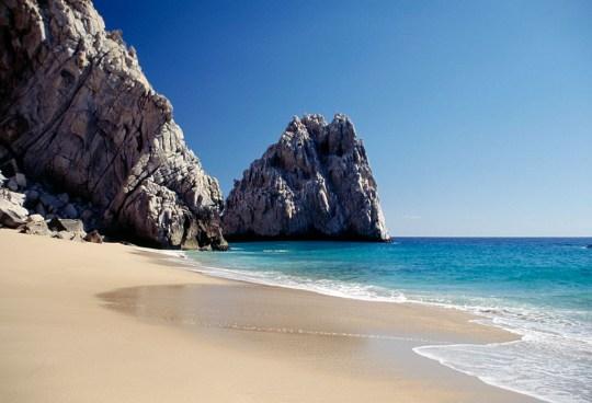Lover's beach, Cabo San Lucas, Baja California Sur
