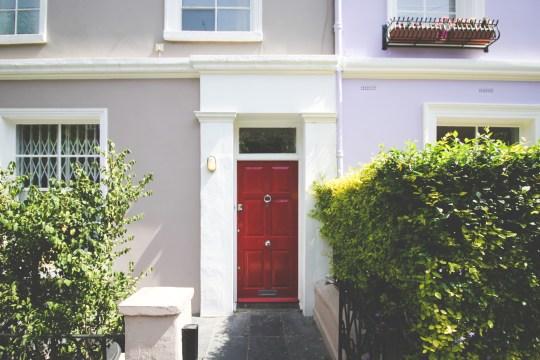 English red door