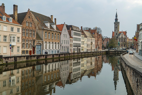 City of Bruges in Belgium