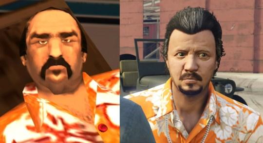 GTA 5 Gustavo and Vice City Gonzalez